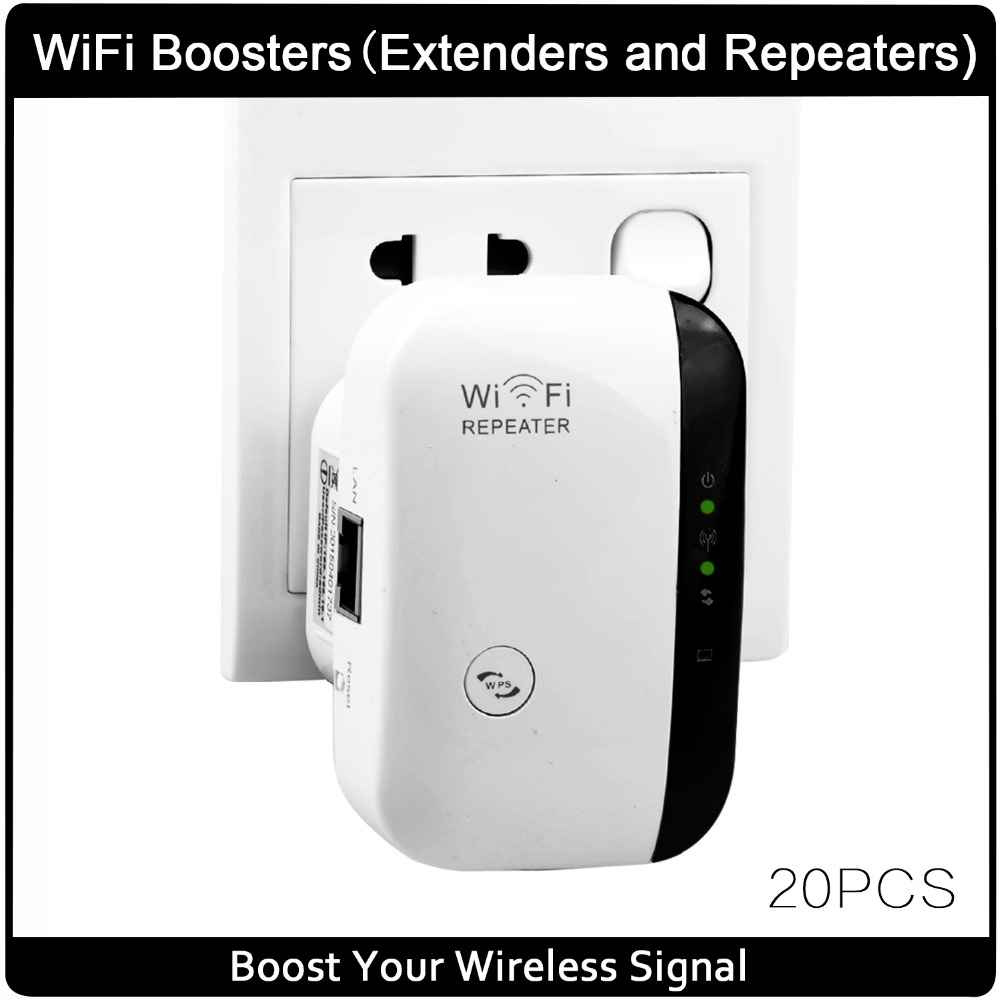 Wireless Wifi Repeater 802.11N/B/G Network Wifi Router Expander W ifi Antenna Wi fi Roteador Signal Amplifier Repetidor Wifi-in Wireless Routers from Computer & Office    1