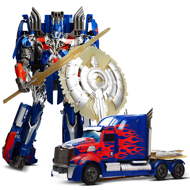 Big Size Transformation Robot Car TransformerINGLYS Anime Series Action Figure Toys Version Class Trolls Model Toys for Boys voyager class power of the prim terrorcons hun gurrr action figure classic toys for boys without retail box
