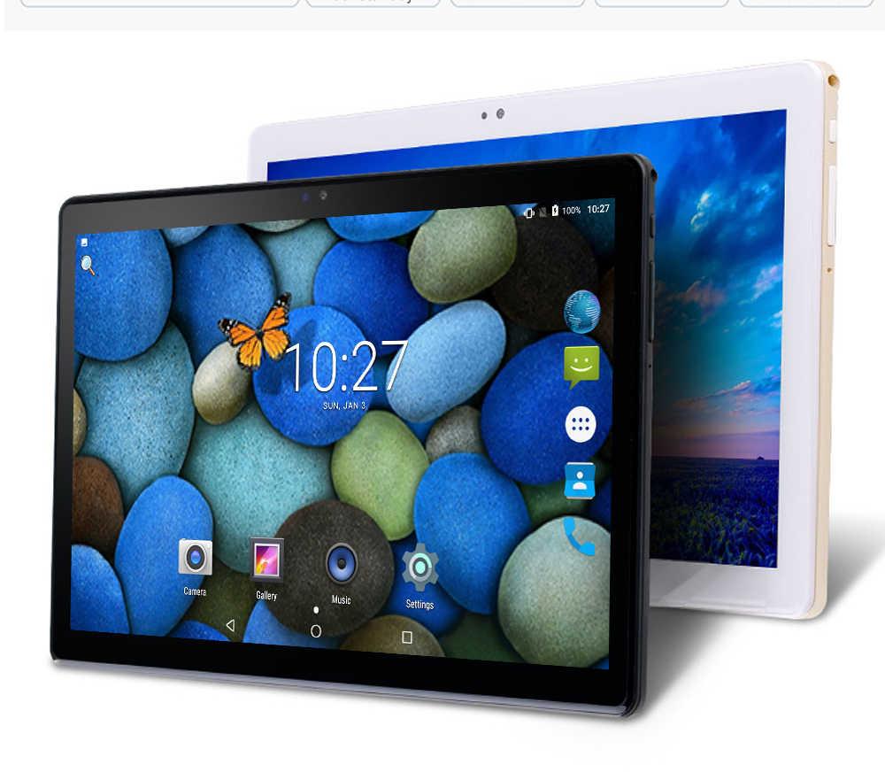 2019 nuevo Google Android 7,0 OS 10 pulgadas tableta Quad Core 1,5 GB RAM 32GB ROM 1280*800 IPS 2.5D de niños tabletas 10 10,1