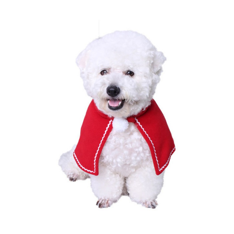 New Fashion Cat Dog Costumes cloaks mantle with buckhorn suit set clothes Pet Puppey Product Christmas For Pet