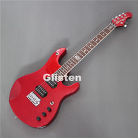 New Metal red Music Man electric guitar free shipping
