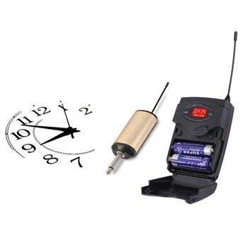 Sistema De Micrófono Inalámbrico, Conjunto De Micrófono Inalámbrico Con Auriculares Y Receptor De Transmisor