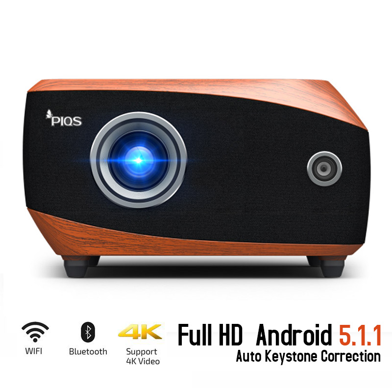 Laser Projector,Full Hd,5120 Lumens, Support 1080P,3D,Wifi,HDMI,4K Portable LED Projector, Home Cinema, Auto Keystone Correction gigxon g700a android portable mini projector support full hd level 1920x1080pixels 1200 lumens led projector