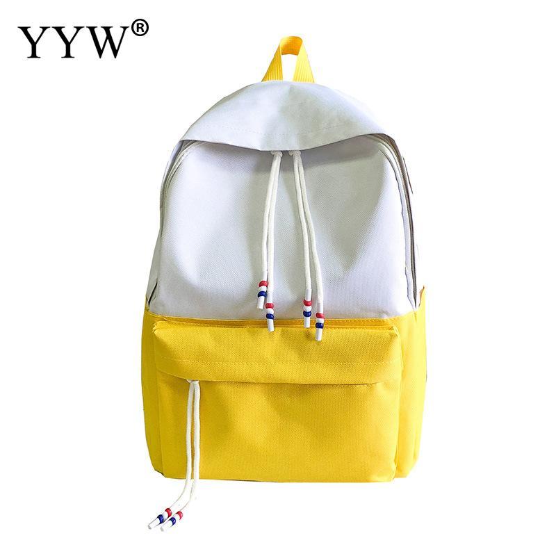 Fashion Backpack Women Mochila Rucksack Shoulder-Bag Teenager School Casual Solid