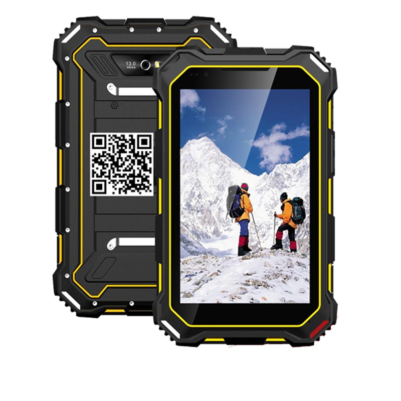 7 Inch HD LCD Rugeed Tablets Pc MTK 6735V C Quad Core IP68 Waterproof 4G LTE 7000mAh Battery
