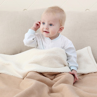 Warm Fleece Baby Blankets Newborn Winter Kids Swaddle Bedding Wraps Photography Props Children Products Thick Bath Towel