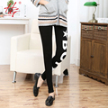 C10 preto leggings mulheres padrões de letras leggings de algodão meninas marca HG legency inverno calças leggings de fitness feminino