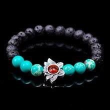 SA SILVERAGE Energy Stone Bracelet for Men Women Strand 2019 Natural Agate Combination Beaded Hand-woven