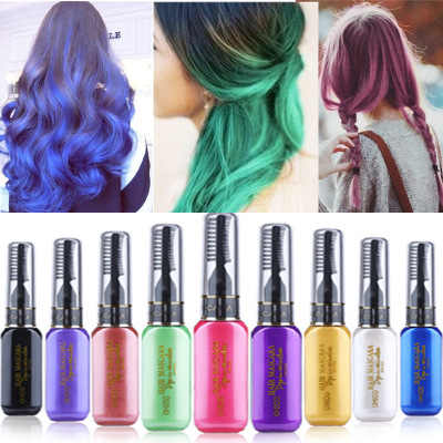 959eb52da47 Detail Feedback Questions about 13 colors one time hair color DIY ...