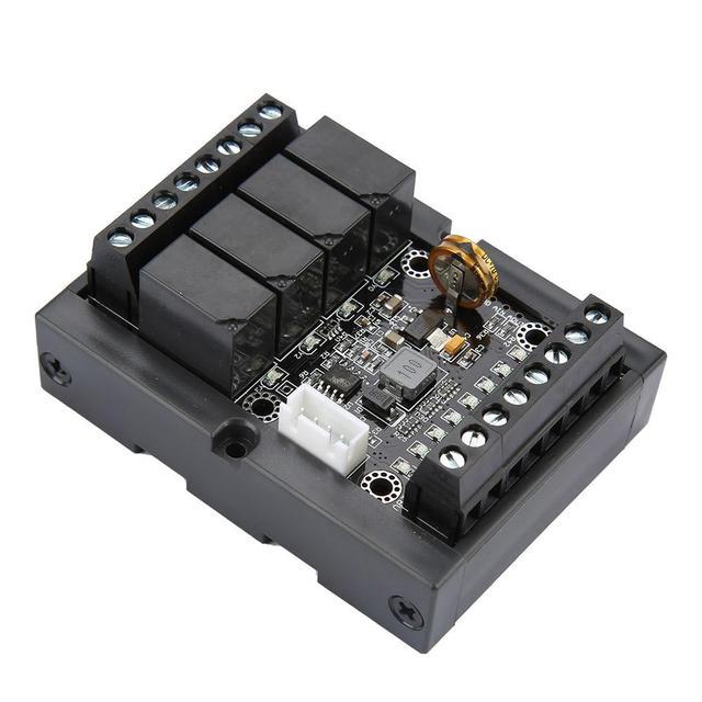 FX1N 10MR وحدة تحكم منطقية قابلة للبرمجة PLC لوحة تحكم الصناعية مع قذيفة تيار مستمر 10 28 فولت