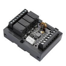 FX1N 10MRプログラマブルロジックコントローラplc産業用制御ボードとシェルdc 10 28v