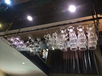150*30CM Fashion Bar Red Wine Goblet Glass Hanger Holder Hanging Rack Shelf wall wine rack cup holder