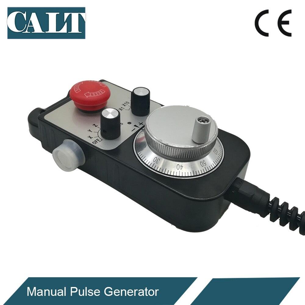 CALT ЧПУ контроллер ручного колеса энкодер 6 осей MPG ручной импульсный генератор с E stop фрезерный станок TM1474 100BSL5 - 2