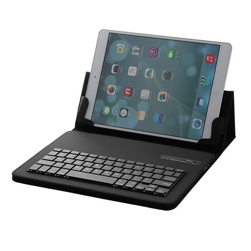 Universal Removable Bluetooth Keyboard Folio Case Cover For Lenovo 10.1 A10-70 A7600 IdeaTab S6000 LG G Pad 10.1 V700 VK700 аксессуар чехол lenovo ideatab s6000 g case executive white page 1
