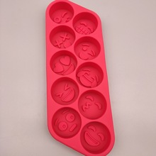 Food Level Silica Gel Ice Lattice Cream Mould Diy Expression Package Cake Model