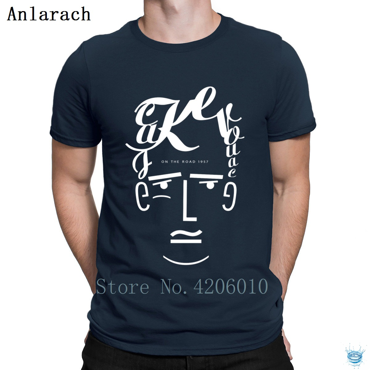 Jack Kerouac T-Shirts Designs Round Collar Male New Men's Tshirt Cheap Sale Leisure Websites Tee Shirt Summer