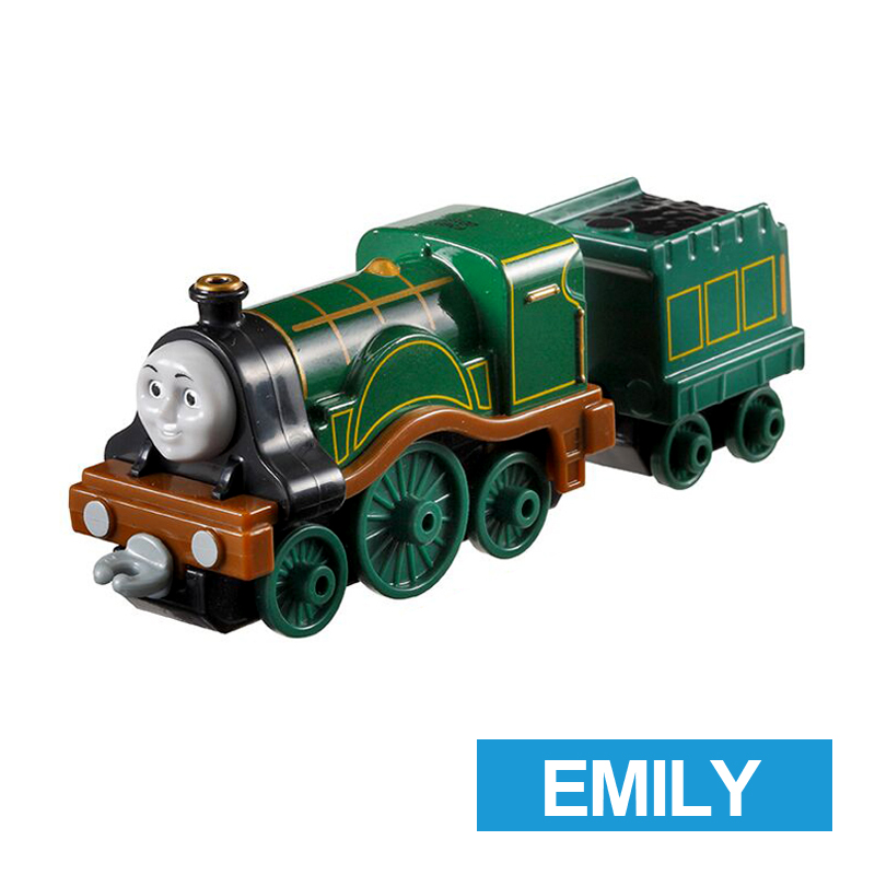 x2 Gift 1: 64 Vehicles Diecasts Thomas with hook Emily Thomas And Friends Magnetic Thomas Truck Engine Train Toys For Boys