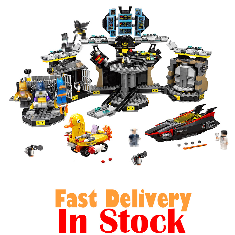 Lepin DC Marvel 07052 Batman Super Heroes Movie Series Batcave Break-in Building Blocks Bricks Kit Toys for boys leGoINGly 70909 compatible with lego marvel lepin 38005 328pcs super heroes movie iron man ironman mech building blocks bricks toys for children