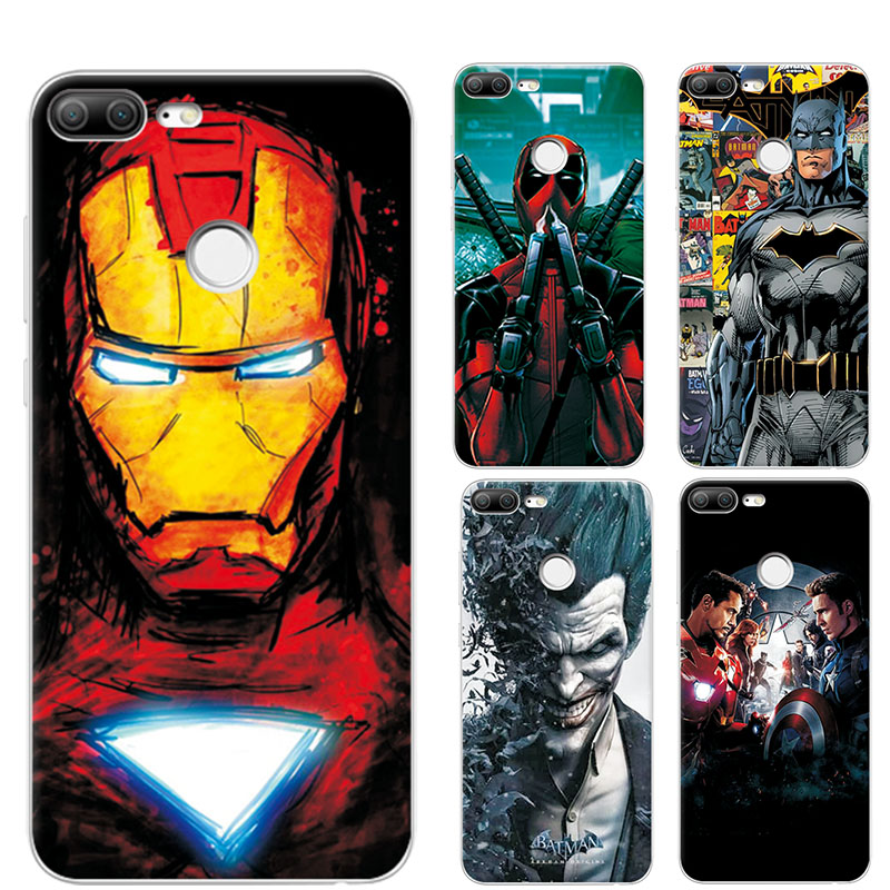 Charming Painted Phone Case Cover For Huawei Honor 9 Lite Marvel Avengers Captain Case For Huawei Honor 9 Lite Honor9 Lite 5.65