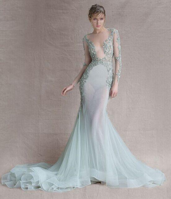 Paolo Sebastian Wedding Dresses Mermaid