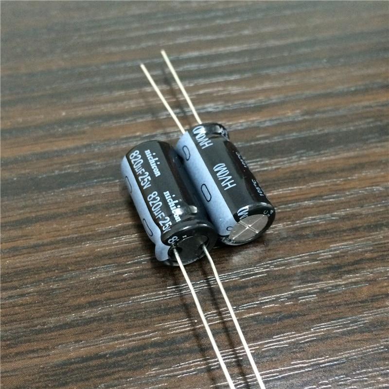 820uf 25v Rubycon Radial Electrolytic Capacitor 25v820uf Long Life ZLH 20pcs