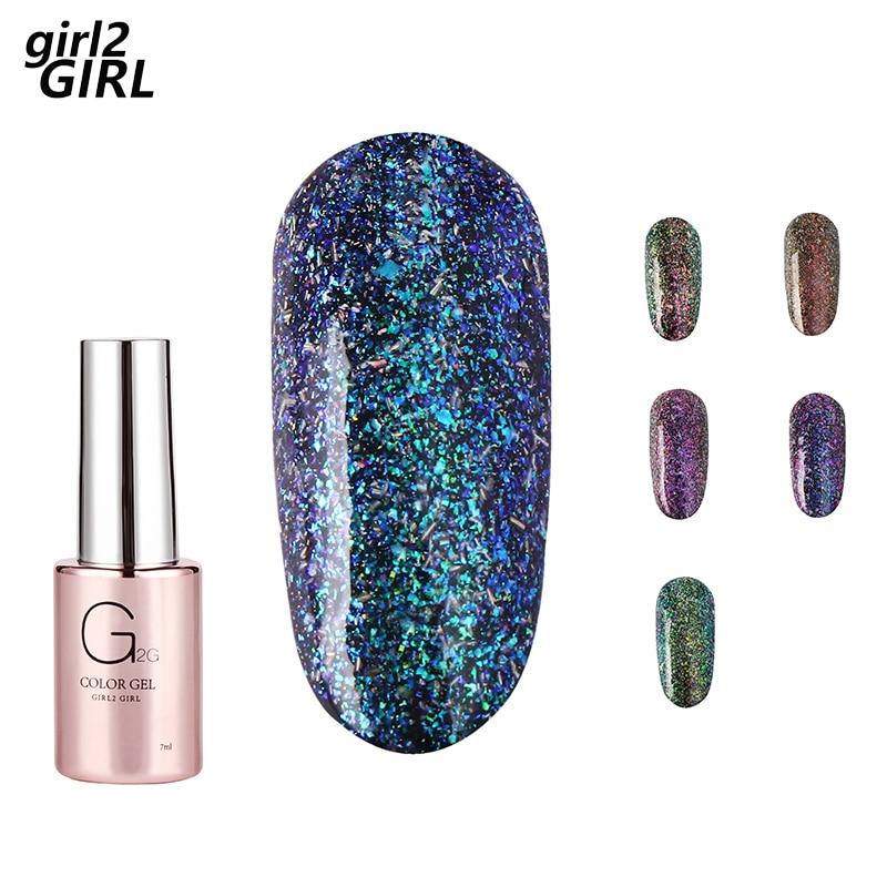 GIRL2GIRL УФ гель лак для ногтей SOAK OFF фейерверк цветов|Гель для ногтей|   | АлиЭкспресс