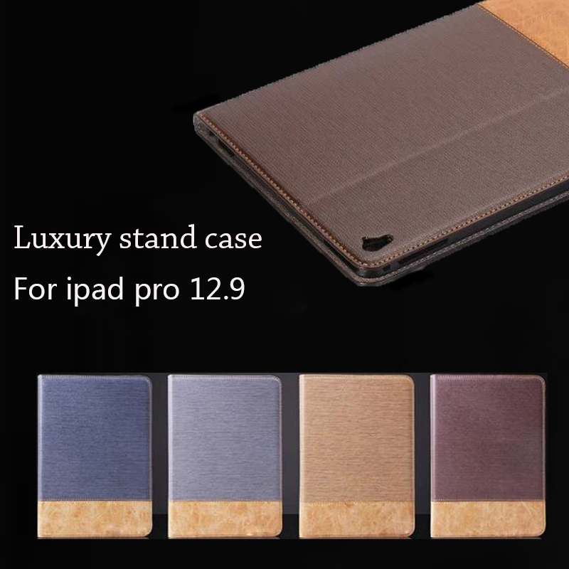 For Apple iPad Pro 12.9 Case Cross Pattern PU Leather Flip Folio Smart Case Cover for iPad Pro Wallet Card Holders with Stand mantra настенный светодиодный светильник mantra petaca 5511