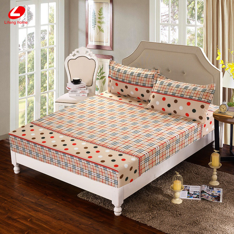 Home textile bed sheet sheet flower mattress cover printing bed sheet elastic rubber bedclothes 180*200cm summer bedspread band 36