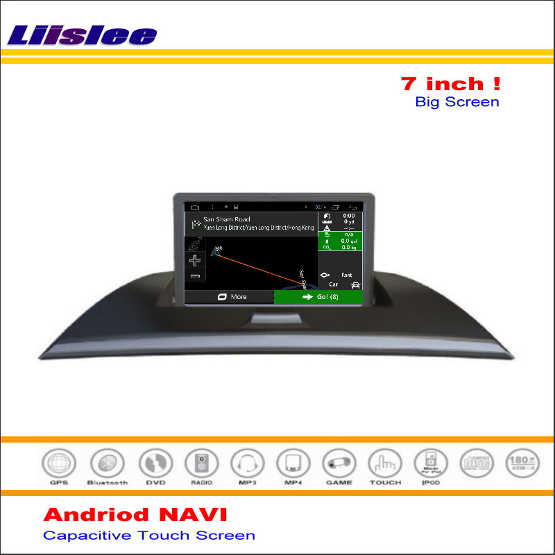 Liislee Car Android GPS NAV Map Navigation System For BMW