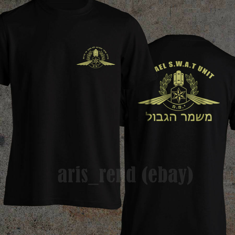 2019 Funny Yamam Israeli Counter Terrorism Unit Israel Swat Special Force Men T Shirt Double Side Unisex Tee in T Shirts from Men 39 s Clothing