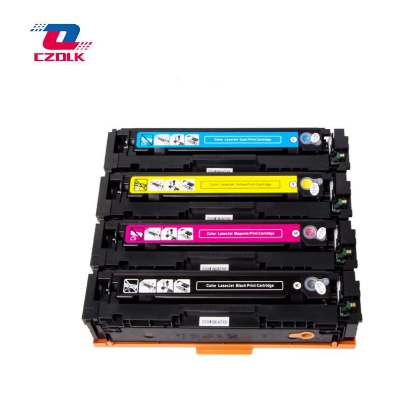 4PK Color Toner Cartridge Set CF400A 201A For HP LaserJet Pro M252n MFP M277dw