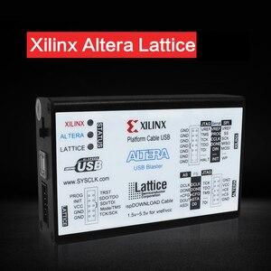 Image 4 - Xilinx загрузчик Altera загрузка линии сетки Usb три в одном Fpga Cpld макетная плата
