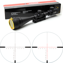 KANDAR 4 5 14x50 AOE Hunting Riflescope Red Special Cross Reticle Sniper Optic Scope Sight FOR