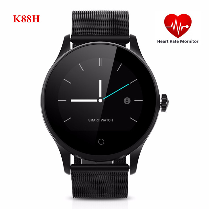 все цены на Excelvan K88H Smart Watch Pedometer Heart Rate Monitor Call/SMS Reminder Sleep Monitor Men Women Smartwatch For Smart Phone онлайн