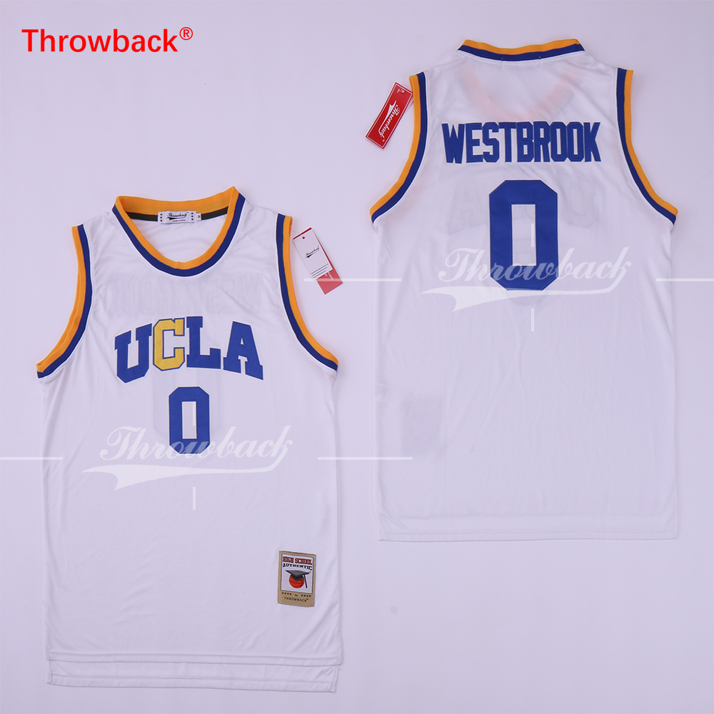 ... coupon for buy ucla russell westbrook white jersey and get free  shipping on aliexpress a8009 5fd6c netherlands low price 2019 ... e9fe67745