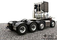 LESU Bz 3363 8*8 металлический тяжелый шасси Радиоуправляемый трактор 1/4 модель грузовика сервопривод