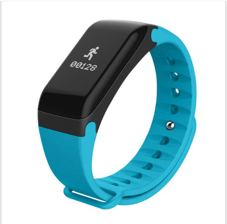 F1 smart bracelet heart rate blood pressure smart Bluetooth pedometer Android IOS smart band wristband Bluetooth smartwatch
