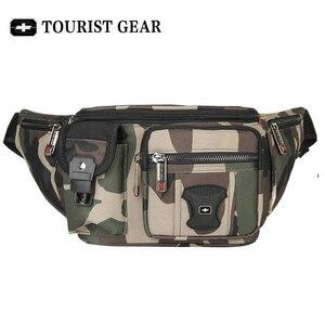 Image 4 - Bolsa de cintura suíça para homens e mulheres, pochete com cinto de quadril, mochila de viagem, montanhismo, para celular pacotes