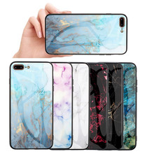 Marble Soft TPU Back Cover For Coque iPhone 7 XS MAX Shockproof Phone Case 6 6S 8 Plus X XR