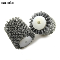 100 120mm Abrasives Wire Brush Wheel DuPont Furniture Polishing Grinding Tool