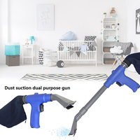 Cleaning Tool Quick Change Blow Vacuum Car Pneumatic Cleaner Air Duster Compressor Blow Suction Machine Pneumatic Cleaner