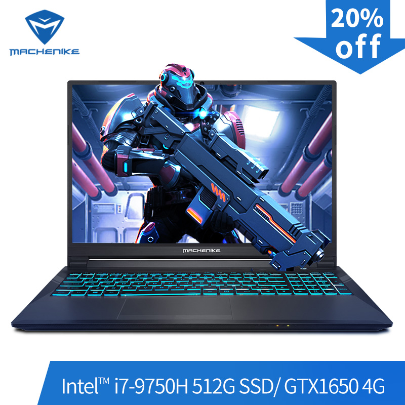 Игровой ноутбук Machenike T58-VB (Intel Core i7-9750H + GTX 1650/8 GB ram/512G SSD/15,6 '') machinike-brande notebook