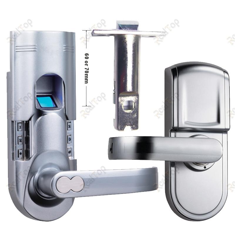 Smart Digital Electronic Keyless Keypad Locks Fingerprint
