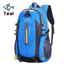 Hot Women and men Fashion Backpacks Oxford Waterproof With Ears Bags Sack Backpack Travel Mountaineering Rucksack trekking bag(China)