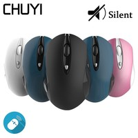 Wireless 2.4G MINI Silent Mouse Ergonomic Optical Inal Ambrico Office Mice USB 1600DPI Computer Gaming Mause For Xiaomi Laptop