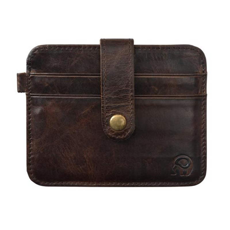 Us 2 34 19 Off Button Clip Slim Credit Card Holder Bag Mini Wallet Id Case Purse Bag Pouch Men Wallets Storage Outdoor Carrier Drop Ship In Button