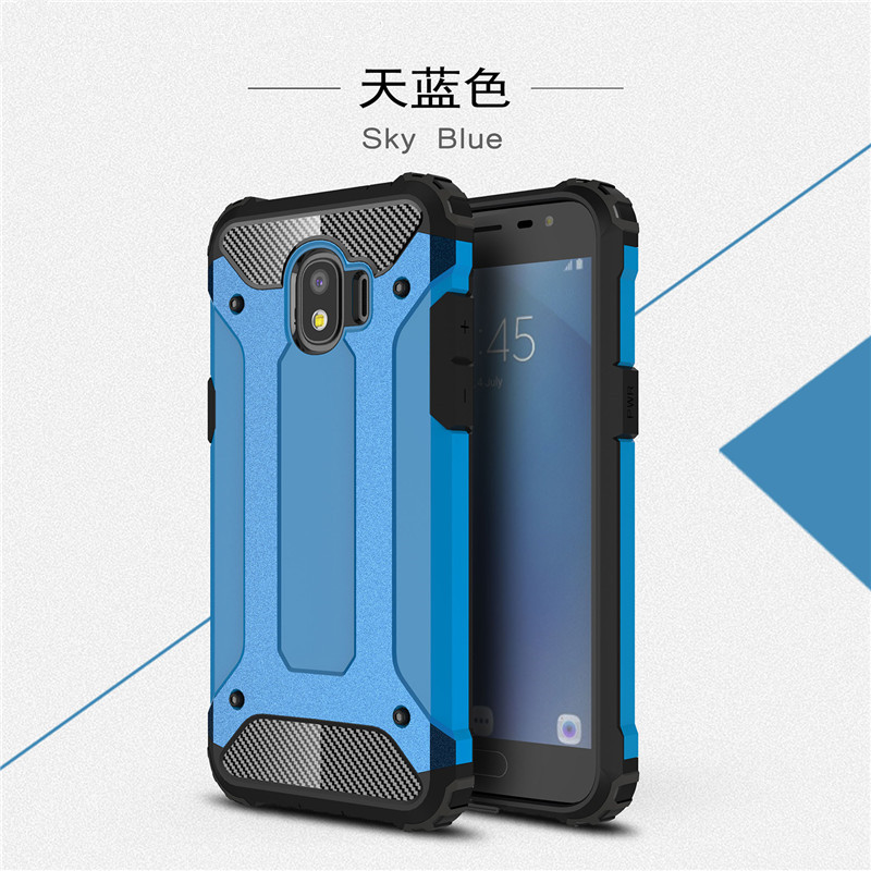 best loved 7c841 3b1e0 US $3.29 6% OFF|For Samsung J2 2018 case cover funda New Luxury bumper  protect For Samsung Galaxy J2 2018 smartphone case back cover coque-in  Fitted ...
