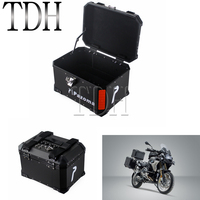 Motorcycle Aluminum Top Case Box Scooter Trunk Tail Rear Luggage Case 45L For BMW R1200 Honda NC CB Suzuki Universal