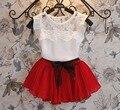 2016 новые новорожденных Девочек Одеваться Дети Девушка Одежда партия принцесса платья девушки малыша платье 8 цвет Рождество для 2 3 4 5 7 8 9 лет