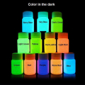 12 Cores Neon Fluorescente UV Pintura Corporal Crescer No Pintura de Rosto escuro Luminous Tintas Acrílicas Arte para Party & Halloween Make Up